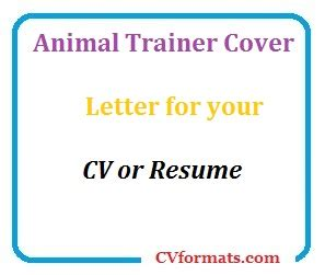 Free cover letter with cv